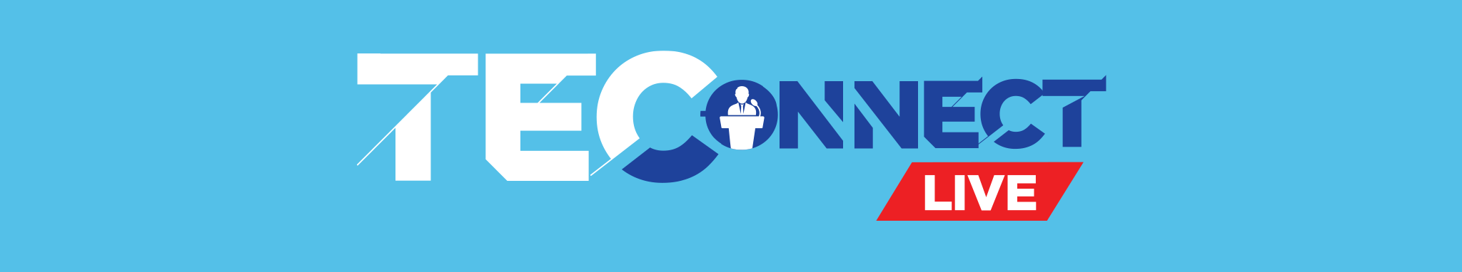 TEConnect Live Landing Page Banner